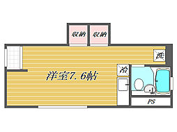 東京都豊島区長崎1丁目の賃貸アパートの間取り