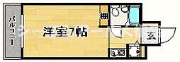 ルエ・メゾンロワール大橋[1階]の間取り