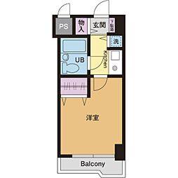 ライオンズマンション本厚木第3[9階]の間取り