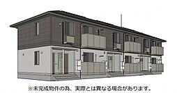 山口県山陽小野田市平成町の賃貸アパートの外観