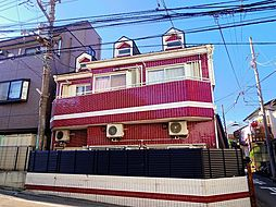 埼玉県所沢市元町の賃貸アパートの外観