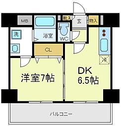 アーバンステージ天王寺東[3階]の間取り