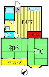 鈴木コーポ[2階]の間取り