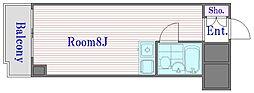 ライオンズマンション板橋区役所前[9階]の間取り