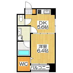 デュープル京都[4-C号室]の間取り