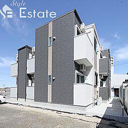 愛知県名古屋市天白区井の森町の賃貸アパートの外観