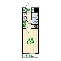 レグステージ[2階]の間取り
