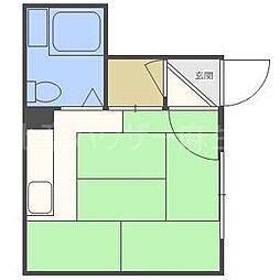 信和ハイツB棟[2階]の間取り