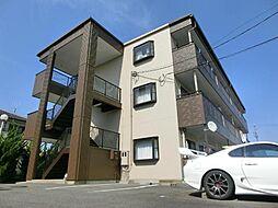 愛知県北名古屋市弥勒寺西3の賃貸マンションの外観