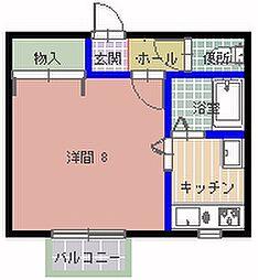 ADAGIO(アダージオ)[202号室]の間取り