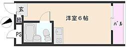 東長崎センチュリー21[2階]の間取り