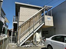 滋賀県甲賀市水口町本町3丁目の賃貸アパートの外観