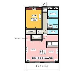 RIKIMATU[2階]の間取り
