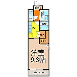 パンシオン千種[5階]の間取り