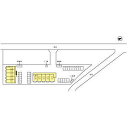 マロニエジャルダン B[1階]の外観