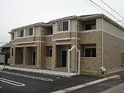 愛知県一宮市小信中島字西五反田の賃貸アパートの外観