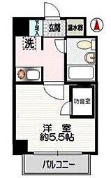 クリオ鶴ヶ峰壱番館[2階]の間取り