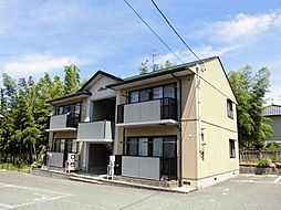 新潟県新潟市江南区亀田水道町5丁目の賃貸アパートの外観