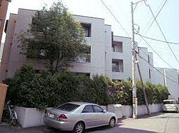 北海道札幌市中央区宮ケ丘3丁目の賃貸マンションの外観