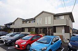 愛知県安城市南町の賃貸アパートの外観