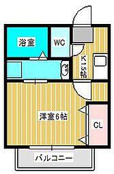 仮)栄町共同住宅[2階]の間取り