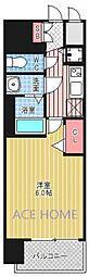 グランカリテ日本橋II[1005号室号室]の間取り
