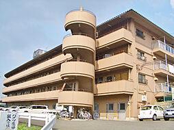 滋賀県大津市赤尾町の賃貸マンションの外観