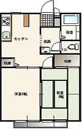 サンライフ パートII[1階]の間取り