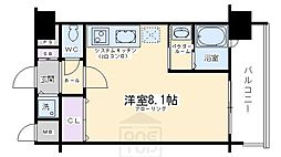 ラナップスクエア京都鴨川[2階]の間取り