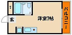 ファミールタツヒチ[5階]の間取り