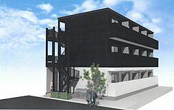 加平3丁目新築アパート[1階]の外観