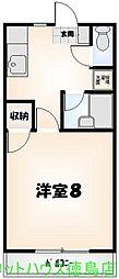 ココファニー[2-B号室]の間取り
