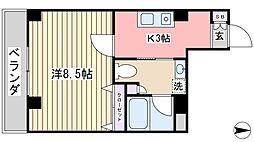 プレミールS[2階]の間取り