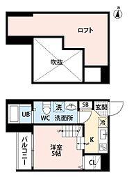 リノメゾン 片江[1階]の間取り