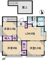 池田荘[2階]の間取り
