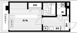 リッツ麻布[2階]の間取り