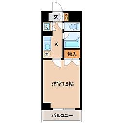 ロイヤルヒルズ高松[1階]の間取り