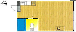 ラウンドハイツ[5階]の間取り