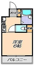 兵庫県神戸市灘区将軍通2丁目の賃貸マンションの間取り
