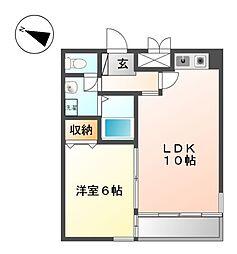 オゾックハウス[2階]の間取り