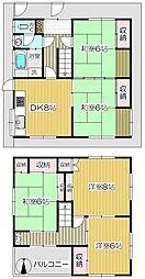 [一戸建] 埼玉県さいたま市浦和区北浦和5丁目 の賃貸【/】の間取り