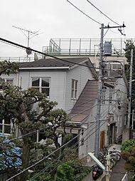 東京都目黒区中目黒3丁目の賃貸アパートの外観