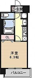 アクロス京都西大路[7F号室号室]の間取り
