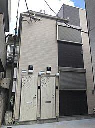 東京都文京区弥生1丁目の賃貸アパートの外観