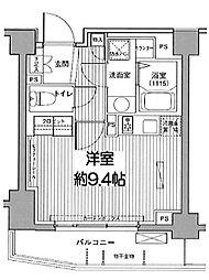 東京都文京区小日向4丁目の賃貸マンションの間取り