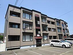 北海道石狩郡当別町緑町の賃貸アパートの外観