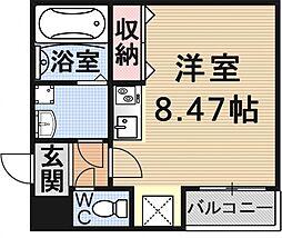 (仮)御陵鳥ノ向町アパート[202号室号室]の間取り