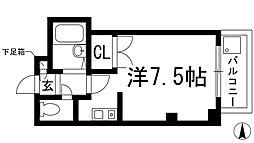 中央日進ビル[2階]の間取り