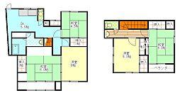 [一戸建] 神奈川県横須賀市三春町6丁目 の賃貸【/】の間取り