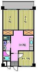 第87杉フラット[507 号室号室]の間取り
